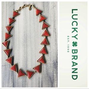 Lucky brand boho chunky necklace